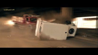 Big truck stunt in Cairo 2015