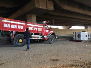 Big truck stunt cairo