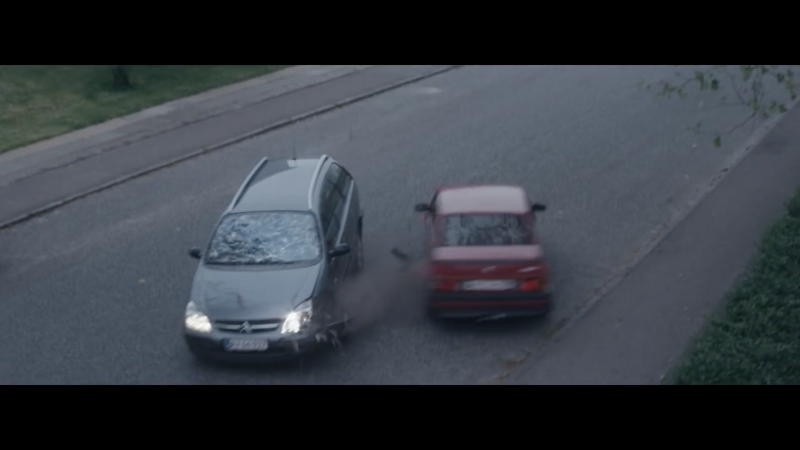 Car stunt for Danish traffic safety 2015
