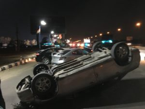 El Badla car stunt
