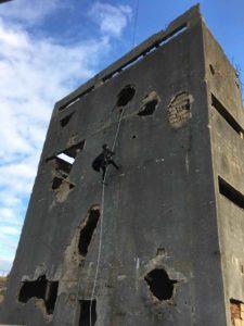 wirework climbing wall Hamlet Pheroun